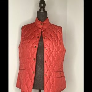 Eddie Bauer Women's Red Vest Size L